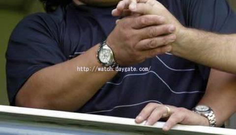 buy popular 673fb 438d3 マラドーナの腕時計